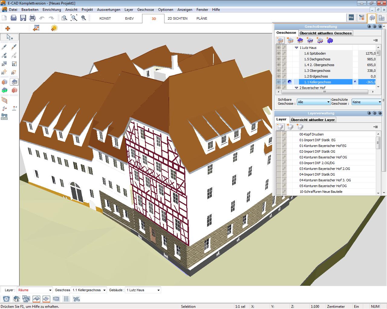 Unter Berücksichtigung EnEV Relevanter Aspekte Lassen Sich In Der Komplett  überarbeiteten Version Wohn , Nichtwohn  Und Gemischt Genutzte Gebäude  Planen, ...