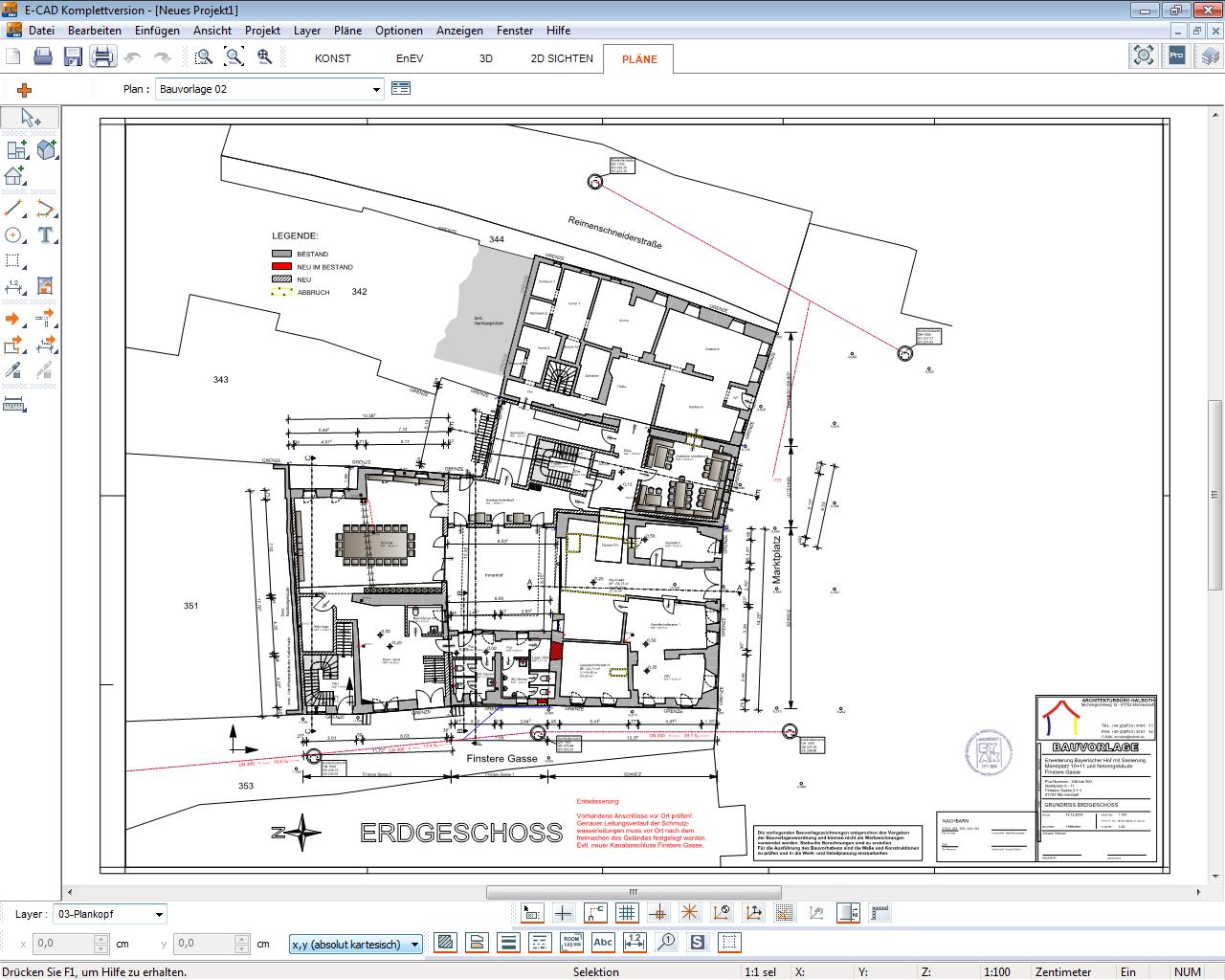 Charming Ein 3D Modell Aus E CAD Vermittelt Jedem Bauherrn Eine Genaue Räumliche  Vorstellung Seines Gebäudes.